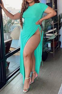 Модное платье для крепления с открытой вилкой большого двора DN8605