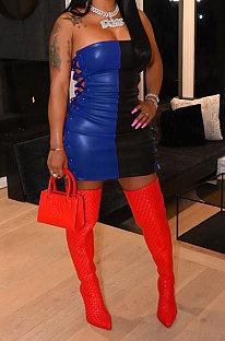 Сексуальное модное мини-платье HM5451