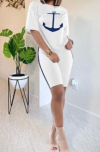 Женское повседневное платье из двух предметов Euramerican HM5289