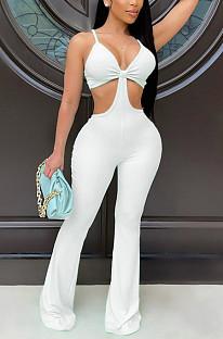 Ночной клуб Sexy Sling Cutivate One's Morality Flare Jumpsuits QZ4338