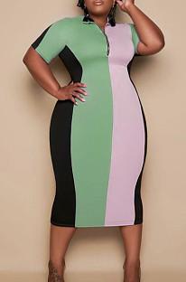 فستان مقسم من Euramerican Big Yards Fashion S6287