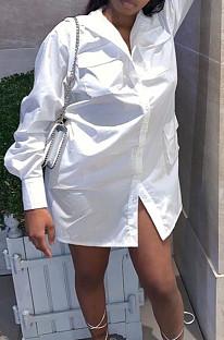 فستان قميص بجيب الأدوات مثير من Euramerican C3048