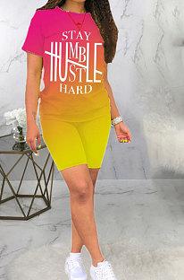 طباعة تحديد المواقع Hurnt Flower Sport Fashion من قطعتين BLE2322