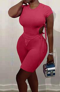 عارضة أزياء أورامريكان أحادية الجانب Binb Pit Bar كاجوال من قطعتين TK6178