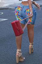 المرأة الأوروبية الأمريكية العصرية ضمادة كاوبوي السراويل WE8919