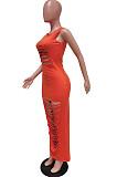 أزياء الصيف لون نقي هول فورنت زهرة بلا أكمام فستان BBN173