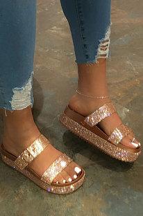Summer Sexy Crystal Platform Sandals XK8018