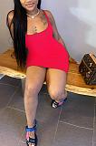 أزياء المرأة مثير لون نقي الرسن اللباس NL6068