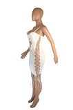 فستان مثير برباط ورباط على الجانب بحبال SML8207