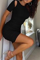 Euramerican Pit Bar Off Shoulder Ruffel Sexy Dress LML243