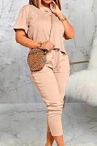 Euramerican Fashion Short Sleeve Long Pant Sets SMR10362