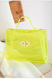 Wholesale PVC Candy Color Transparent Mini Jelly Bag BNS202