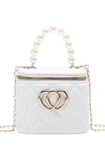 Wholesale PVC Pearl Candy Color Mini Bucket Bag BHS958C(PRICE 3 PIECES PER COLOR )