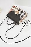Wholesale PU Summer Plaid Print Handbag Women Mini Square Bag BNS638