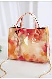 Wholesale PU Gradient Color Fashion Handbag Women Mini Square Bag BNS060