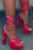Women Platform High-Heeled Shoes XK8019