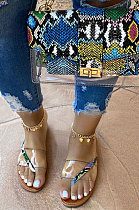 Women's Shoes Flat Sandals Beach Slippers XK8013