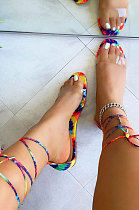Trendy Sexy Bandage Slippers Women's Shoes XK8056