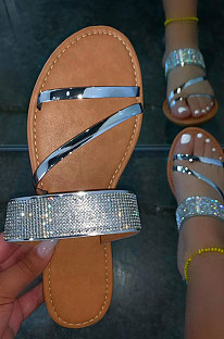 Crystal Lady Sandals Bling Bling Shoes XK8062