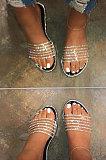 Euramerican Sandals Flat Beach Shoes Lady Slippers XK9108