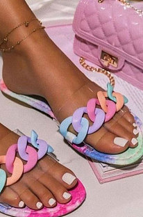Candy Fashion Shoes Casual Flat Sandals XK8055