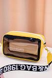 Wholesale PVC Newest Color Block Lady Transparent Mini Jelly Bag BNS050