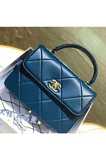 Women's Leather Flap Shoulder Bag