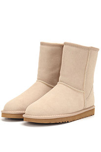 Sand Round Toe Shoes Snow Boots FN5825-5