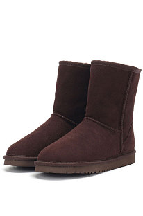 ChocolateRound Toe Shoes Snow Boots FN5825-10