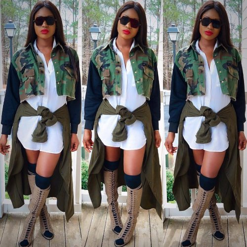 Wholesale Camouflage Long Sleeves Women Jacket MR153