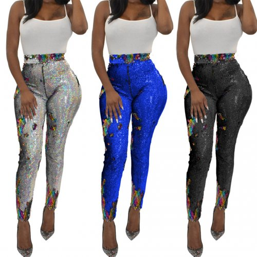 Bling Bling Sequins Pants YS217