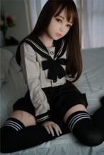 Piper Doll 150CM Bカップ Akira シームレス 【ヘッドとボディ一体化】 ラブドール リアルドール