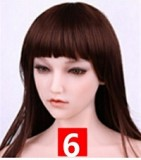 Sanhui Doll フルシリコン製ラブドール シームレス 頭とヘッド一体化 #8 160cm Dカップ