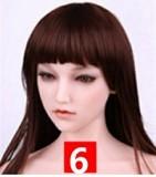 Sanhui Doll シームレス フルシリコン リアルラブドール 8ヘッド 160cm Dカップ 頭と体一体化