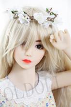 Irontechdoll 132cm AAカップ Lulu New makeupヘッド tpeラブドール