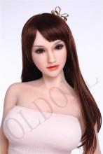 Sanhui doll 156cm美乳 #2ヘッド シリコンラブドール リアルドール ダッチワイフ セックスドール