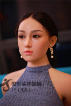 JYDOLL 159cm 巨乳 #赵敏(ZHAOMIN)ちゃん シリコン製ヘッド+TPE製ボディ ラブドール