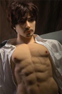 Qita doll トルソー  最新作 蜀ちゃん 男性ラブドール ペニス一体式 リアルドール 等身大 TPEドール male doll 腕なし