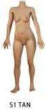 Siliko doll  150cm Fカップ  #J2ヘッド フルシリコン製ラブドール  等身大リアルラブドール