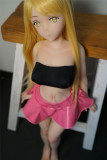 Doll House 168  ヘッドNO.4  80cm バスト小  アニメ系ロリー系 ミニラブドール(掲載画像バスト小ボディ)