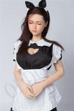 Sanhui doll #24ヘッド 165cm Hカップ 瞑り目 フルシリコンラブドール リアルドール