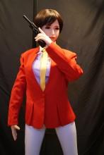 【ツイッター:舞どーるさん撮った写真】Sanhui doll 156cm Eカップ #22ヘッド フルシリコンラブドール リアルドール