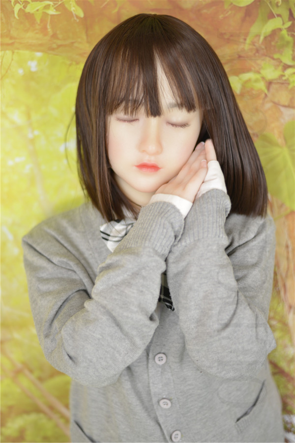 OLDOLLオリジナルドール #NO.2 ヘッド瞑りタイプ  シリコンヘッド+TPEボディ  ロリ系等身大リアルラブドール