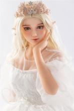 Sanhui doll (TPE製) 148cm Cカップ #T7ヘッド 掲載画像同じ指定メイク② TPE製ラブドール
