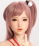 Sanhui doll 最新作 トルソー 100cm Fカップ #8ヘッド フルシリコンラブドール 上半身ドール
