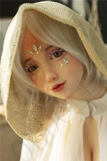 Sanhui doll (TPE製) 156cm Dカップ (バスト大)#T7ヘッド 特別メイク TPE製ラブドール
