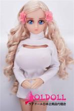 Mini Doll ミニドール T4ヘッド 58㎝巨乳  高級TPE製 セックス可能 軽量化 1.5㎏ 収納が便利 使いやすい 普段は鑑賞用 小さいラブドール 女性素体 フィギュア cosplay