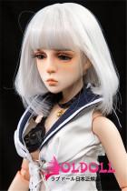 Mini Doll ミニドール M4ヘッド 58cm 普通乳 高級TPE製 セックス可能 軽量化 1.5㎏ 収納が便利 使いやすい 普段は鑑賞用 小さいラブドール 女性素体 フィギュア cosplay
