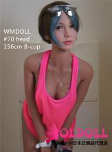 WMDOLL #70ヘッド 新骨格採用 身長選択可能 tpe製リアルラブドール