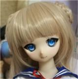 Mini Doll ミニドール AILI 8  ヘッド 58cm 普通乳 高級TPE製 セックス可能 軽量化 1.5㎏ 収納が便利 使いやすい 普段は鑑賞用 小さいラブドール 女性素体 フィギュア cosplay
